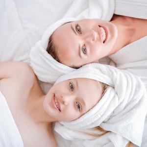 Tratamentos de spa em família