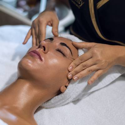 Tratamento facial Serenity Spa